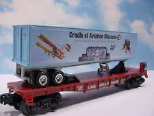 Lionel #52586 NLOE Cradle of Aviation Museum Flat Car Uncataloged  (LS)
