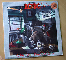"AC/DC DIRTY DEEDS DONE DIRT CHEAP 12"" LIMITED EDITION VINYL P/S DISC"