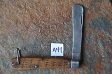 Camillus Lifeboat  Sailors Rope Navy Knife USCG Approved 1944 Q5 USA OLD