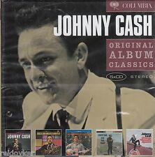Johnny Cash / 5 Original Albums (5-CD-Box-Set, NEU!)
