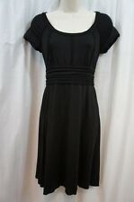 Studio M Dress Sz XS Black Empire Waist Casual Everyday Wear Business Dress