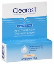 Clearasil Daily Clear Tinted Adult Treatment Cream: 0.65 OZ Discontinued Item