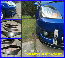 Ford fiesta mk6 st/mk6 zetec s/mk6 fiesta st150/canards/diffuseur nageoires/canards