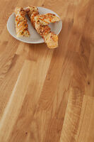 Oak 4M x 620mm x 40mm Wooden Kitchen Worktops - Solid Wood Timber Work Surfaces