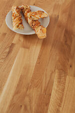 Oak 3M x 620mm x 40mm Wooden Kitchen Worktops - Solid Wood Timber Work Surfaces