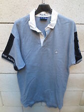 Polo SERGE BLANCO Quinze rugby Tournoi 6 nations France manches courtes L gris