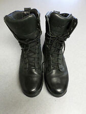 "Danner ""Striker II"", hot black leather and mesh, 8 in tall boots. Men's 8"