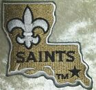 "New Orleans Saints NFL 3"" LA Iron On Embroidered Patch ~USA Seller~FREE Ship"