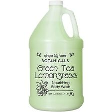 Ginger Lily Farms Botanicals Body Wash Gallon Green Tea and Lemongrass 128 Fl...