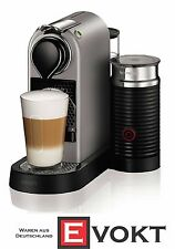 Krups XN760B Nespresso Citiz & Milk Capsule Coffee Machine Silver Genuine NEW