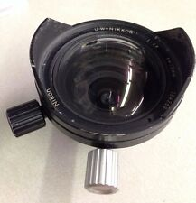 Nikon UW-Nikkor IC 15 mm f/2.8 Camera Lens For Nikonos, Excellent