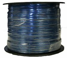 1000' Speaker Wire 16 Gauge Blue Car or Home Audio Clear Guage IMC Audio