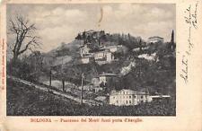2499) BOLOGNA PANORAMA DEI MONTI FUORI PORTA D'AZEGLIO VG NEL 1903.