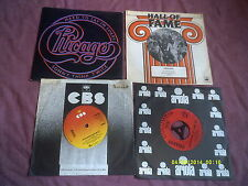 "CHICAGO 4 7"" SINGLES inc 25 OR 6 TO 4,HARD TO SAY I'M SORRY"