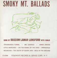 Smoky Mountain Ballads - Bascom Lamar Lunsford (2009, CD NEU) CD-R