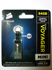 Corsair Voyager Mini Flash drive - USB 3.0 - 64 GB - NEW!!
