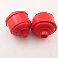 "2 Disposable Inline Air Oil Water Separator Filter For Paint Spray Gun 1/4""NPT"