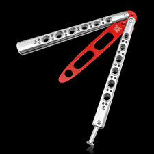 Practice Balisong Butterfly Dull Knife Style by Metal Trainer Tool Cool Sports