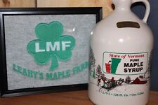 Vermont Pure Maple Syrup, Quarts (2) of Amber From Leahy's Maple Farm)