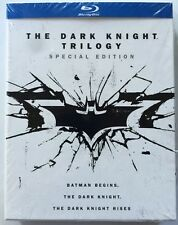 NEW THE DARK KNIGHT TRILOGY BLU RAY 6 DISC SET SPECIAL EDITION + PRINTS & LETTER