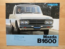 MAZDA B1600 Pick-Up brochure prospekt c1976 - UK market