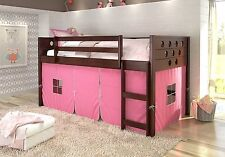Play Tent for Low Loft Beds in Pink