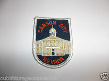 Carson City Nevada Patch - NOS New