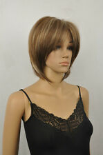 ZWW-JF44  short pretty blonde mix brown hair wigs for women wig