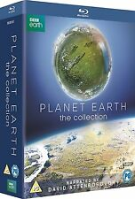 Planet Earth I II Collection . David Attenborough . Planet Erde 1 2 . 7 Blu-ray