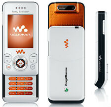 Sony Ericsson W580 White 2G GSM Cellphone unlocked free shipping