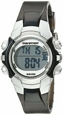 Timex T5K805 Marathon Digital Display Quartz Black, Indiglo, Alarm Watch