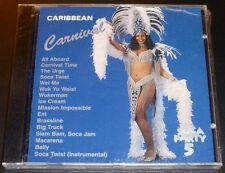 "New! ""CARIBBEAN CARNIVAL SOCA PARTY Volume 5"" (CD 1997) 16-Tracks ***SEALED***"