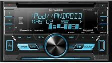 Kenwood DPX302U Double-DIN SiriusXM Ready CD Car Stereo w/ FLAC Support