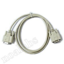 Serial port cable male to female DB9 RS232 1.4m