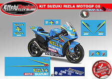 Adesivi/Stickers Kit SUZUKI RIZLA+ GSX-R 600 750 1000 MOTO GP SBK TOP QUALITY!