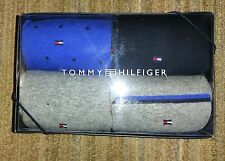 TOMMY HILFIGER Men's 4 PAIRS PACK CREW SOCKS Casual Dress Gift Box SHOE Sz:7-12