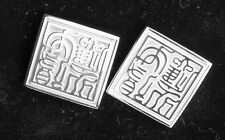 National Palace Museum Achieving The Heart's Desire Cufflinks Orig Box VGC