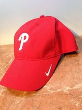 NIKE DRI FIT PHILADELPHIA PHILLIES MLB BASEBALL RED MEN WOMEN GOLF SUN HAT CAP
