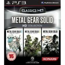 METAL GEAR SOLID HD COLLECTION GIOCO ps3 NUOVO di zecca