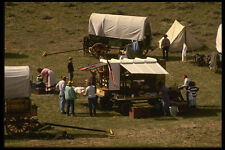 216045 The Chuck Wagon The Center Of Encampment Activity A4 Photo Print
