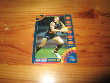 ADELAIDE CROWS SCOTT THOMPSON 2013 TEAM COACH BEST & AND FAIREST CARD TEAMCOACH
