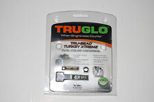 Truglo Tru-Bead Turkey Xtreme Dual Color Universal Fiber Optic Sight for Shotgun