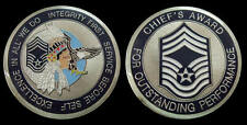 US AIR FORCE CHIEF MASTER SERGEANT AWARD RANK CHALLENGE COIN MILITARY COINS