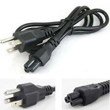 THREE ROUND PRONG AC POWER SUPPLY CABLE CORD PLUG FOR LAPTOP WALL ADAPTER