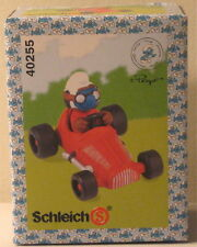 Schleich Smurf in Red Race Car 40255 Brand New in Sealed Box
