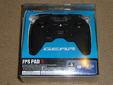 SONY PLAYSTATION 3 PS3 HORI GEAR FPS PAD 3 USB CONTROLLER Gamepad Official NEW!