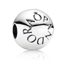 New Authentic PANDORA Signature Sterling Silver Clip Charm 791015 Genuine