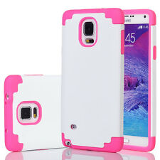Shockproof Hybrid Rugged Rubber Hard Phone Case Cover for SAMSUNG GALAXY NOTE 4