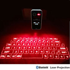 Touch Portable Mini Bluetooth LCD Virtual Laser Projection Keyboard Full Size