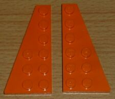 Lego Sponge Bob 2 Flügelplatten 6 x 3 in orange